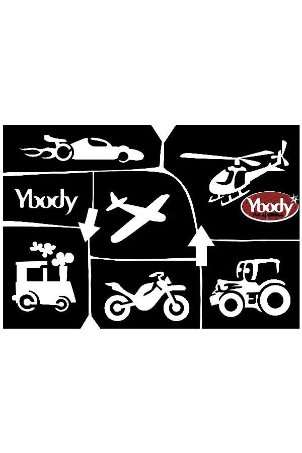 Stencil Transport Y body 1