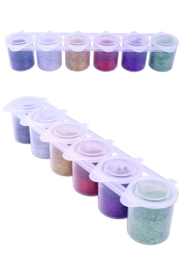 Colorxplosion glitter color set 6×13 gram  Ybody 1