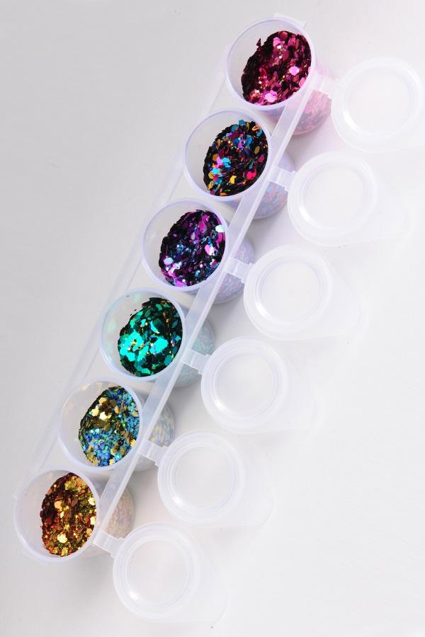 Glitter sixpack superstar Crazy 130 ml 1