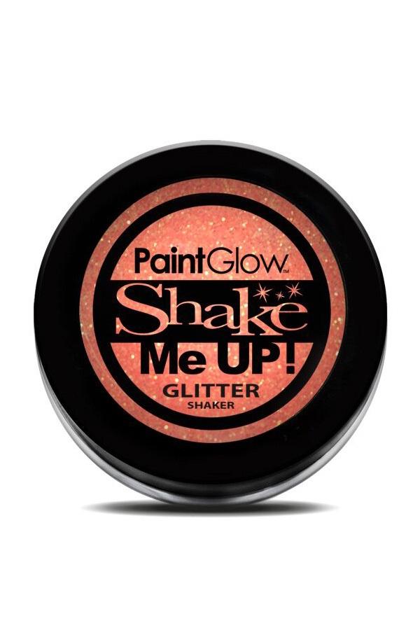 Neon UV glitter shaker Peach Paradise 3 gr
