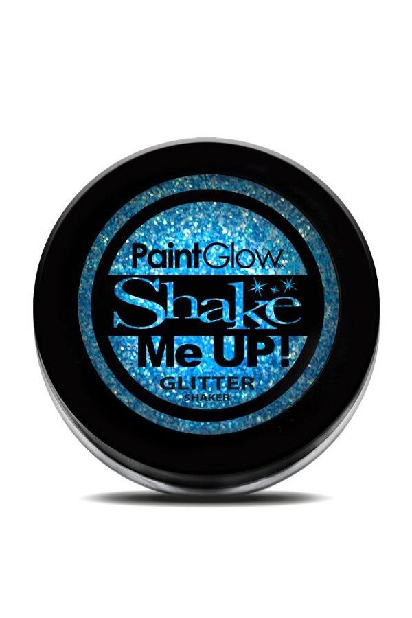 Neon UV glitter shaker Ice Blue 3 gr