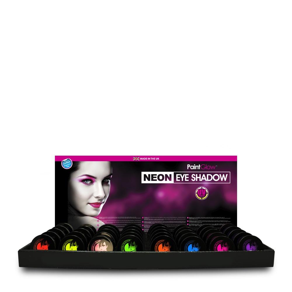 Display Neon UV Eye Shadow assorti kleuren 1