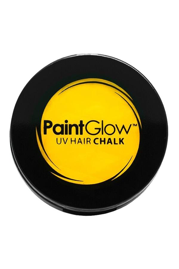 Hair Chalks Neon UV geel 3,5 gr