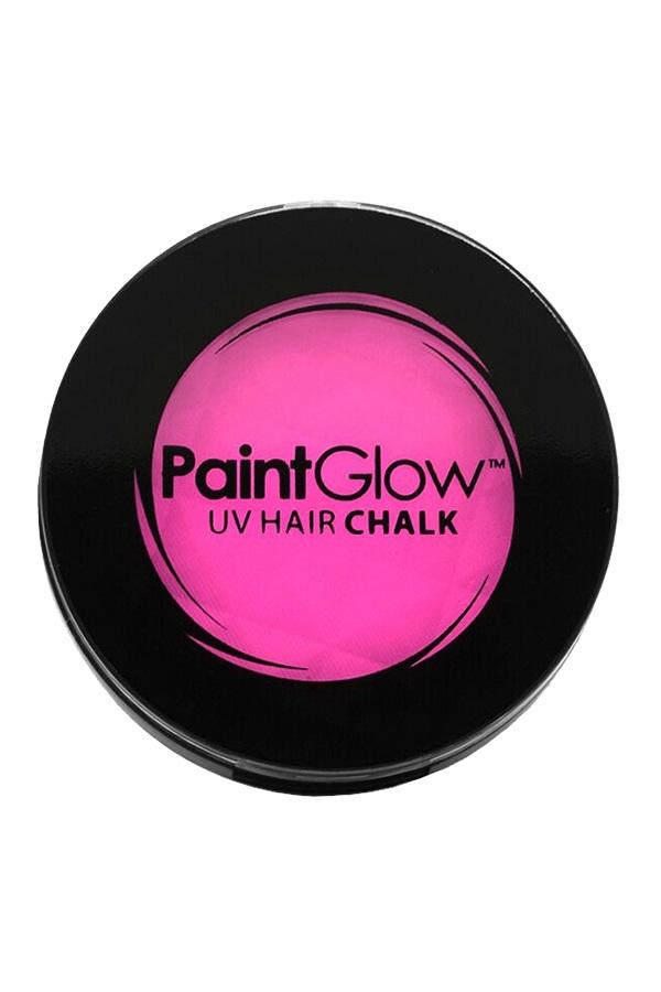 Hair Chalks Neon UV roze 3,5 gr