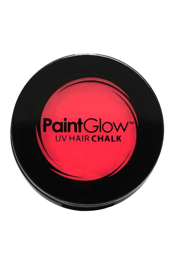 Hair Chalks Neon UV rood 3,5 gr