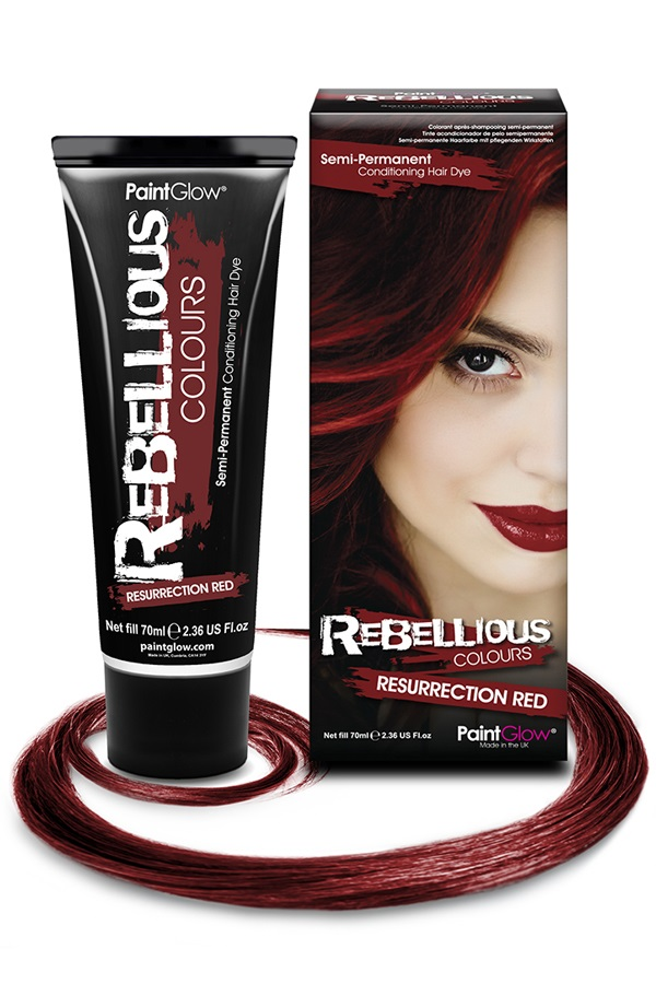 Haarverf semi permanent Resurrection Red 70 ml