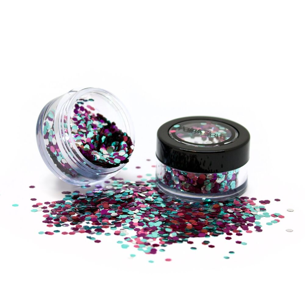Biologisch afbreekbare chunky glitters 3 gr