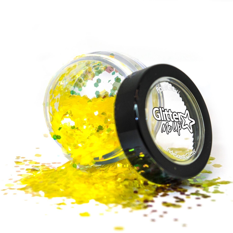 Fantasy chunky glitters 3 gram Golden Griffin 1