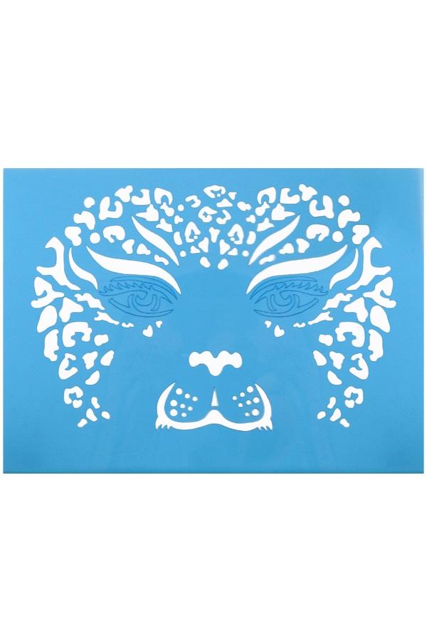 PXP aqua face & body paint template leeuwin 1