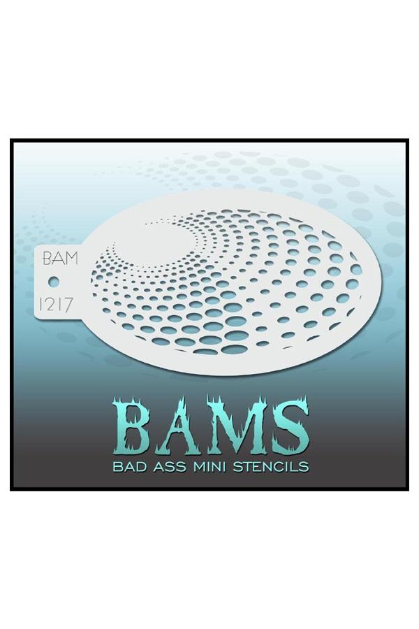 Bad Ass BAM stencil 1217 1