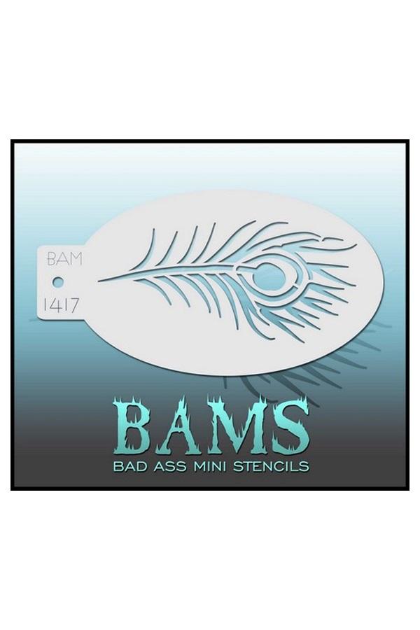 Bad Ass BAM stencil 1417 1