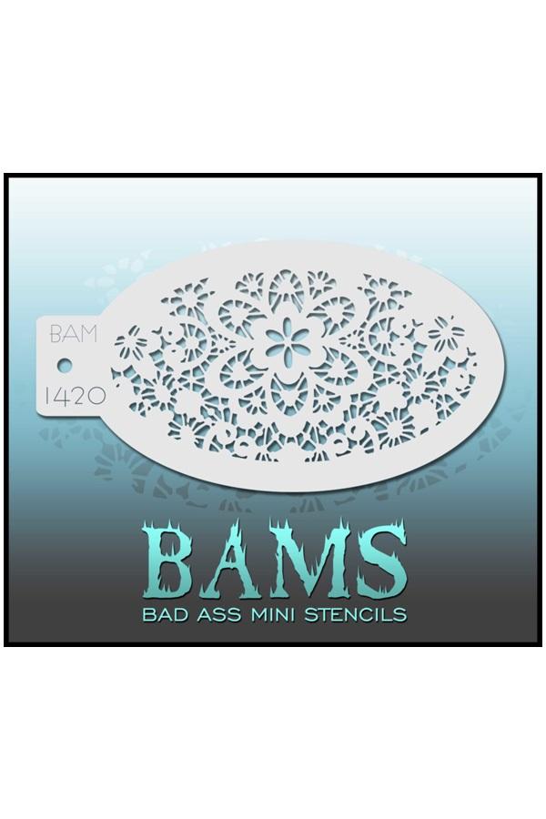 Bad Ass BAM stencil 1420 1