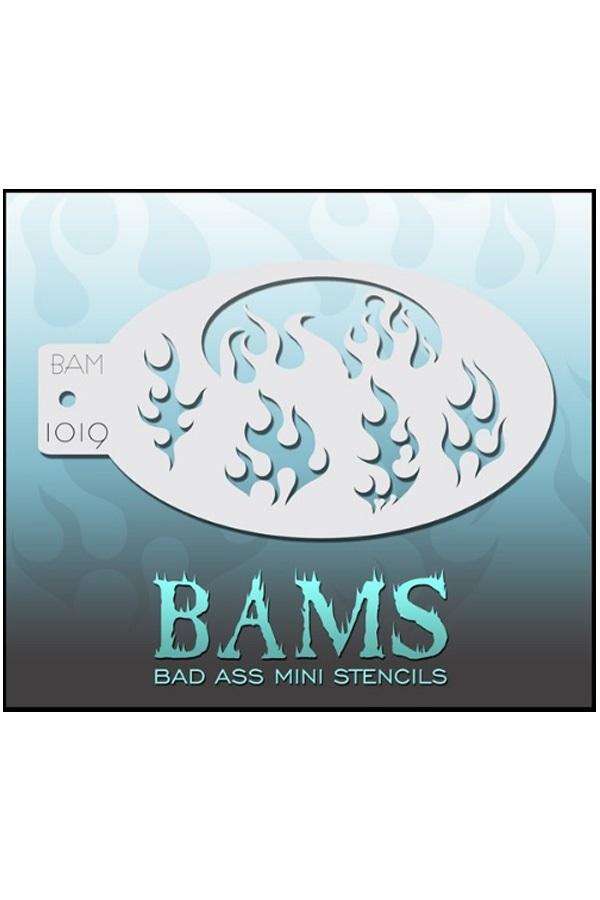 Bad Ass BAM stencil 1019 1