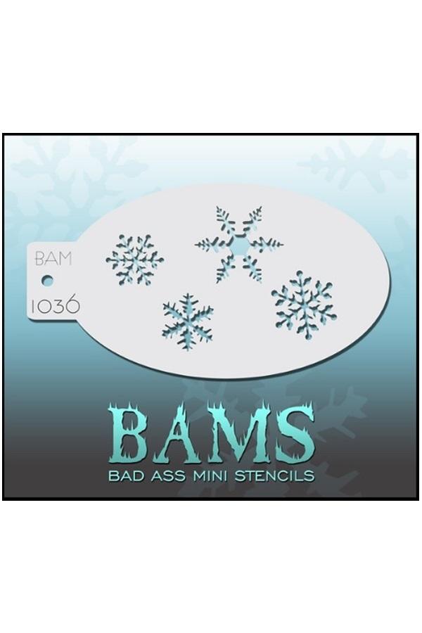 Bad Ass BAM stencil 1036 1