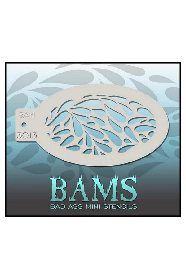 Bad Ass BAM stencil 3013 1