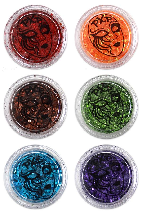 PXP Professional Colours Glitter Rainbow Mix 5gr 1