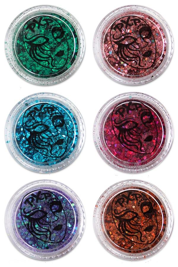 PXP Professional Colours Glitter Fantasy mix 5gr 1