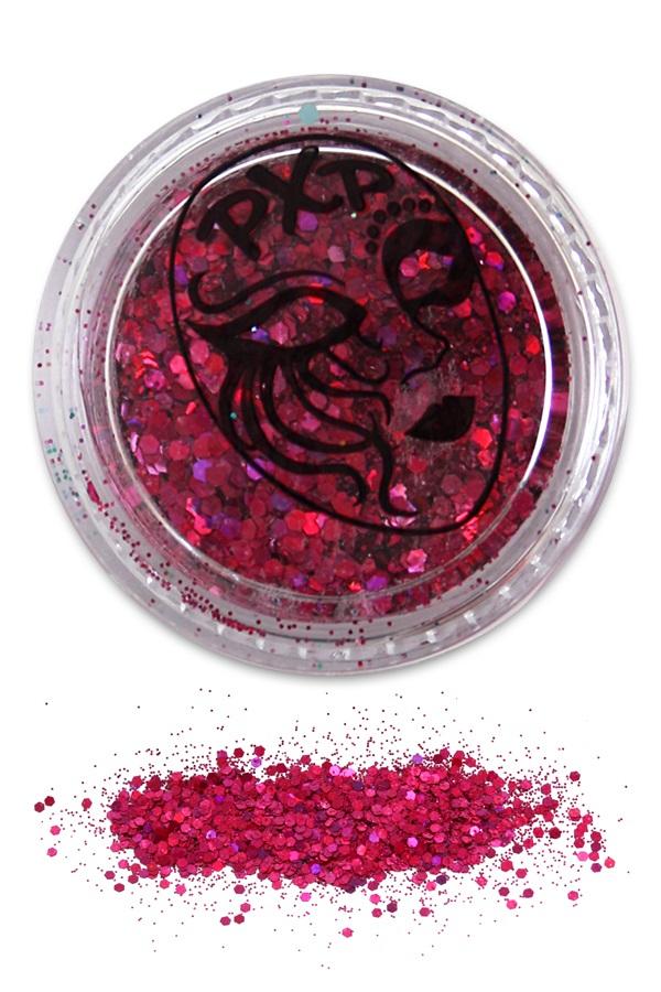 PXP Glitter Flamingo Pink Fijne glitter 1