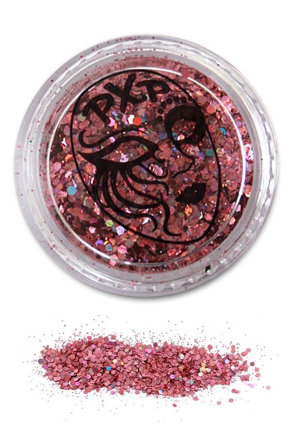 PXP Glitter Powder Pink Fijne glitter 1