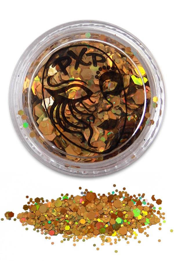 PXP Glitter Sparkling Gold Grove glitter 1