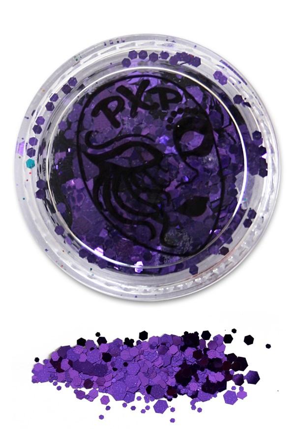 PXP Glitter Purple Rain Grove glitter 1