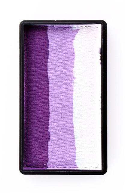 PXP 28 gram splitcake block gDeep purple | lilac | white 1