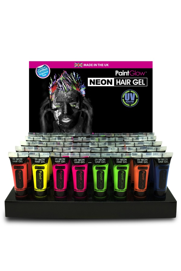 UV Hair Gel 10 ml assortie in display 1