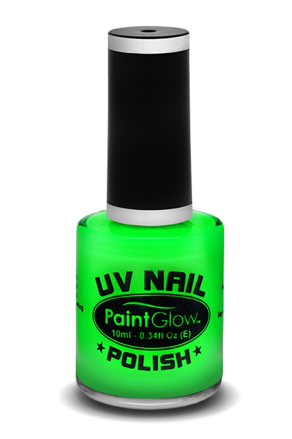 Neon UV nagellak groen 1