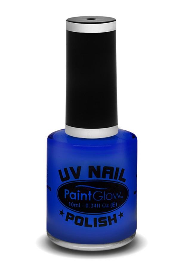 Neon UV nagellak blauw 1
