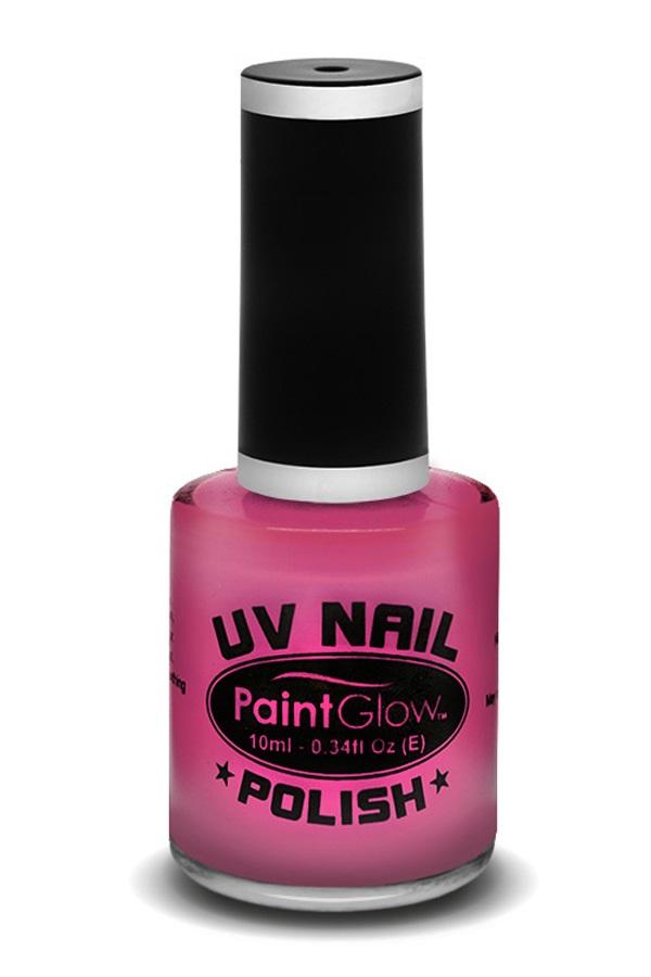 Neon UV nagellak pink 1