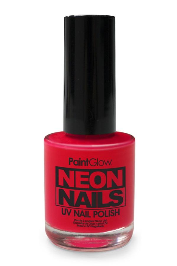 Neon UV nagellak rood 1
