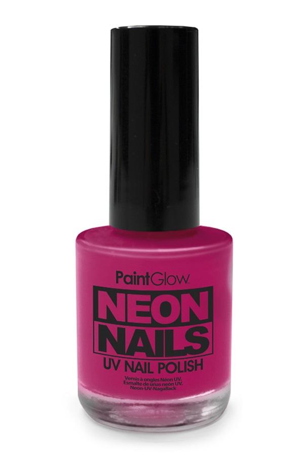 Neon UV nagellak violet 1