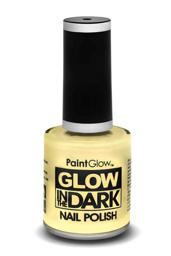 Glow in the dark nagellak UV neon invisible 1