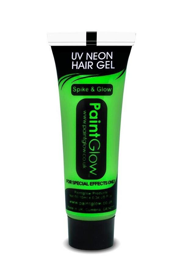Uv hair gel 10 ml groen 1