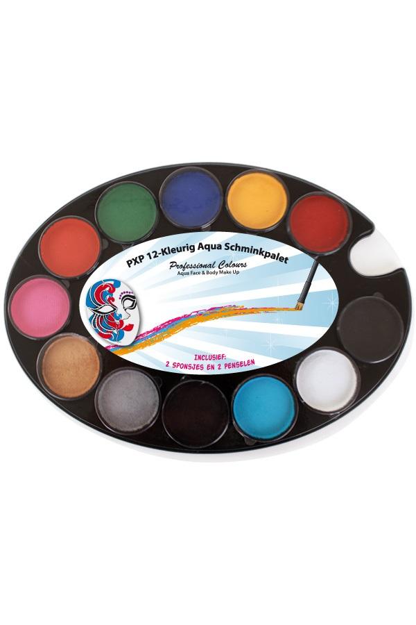 PXP 12-Kleurig Aqua Schminkpalet 1