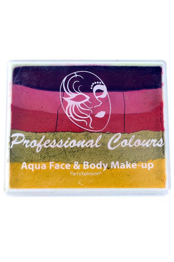 PXP 50 gram splitcake Red | Pink | Golden Orange | Metallic Gold | Yellow 1