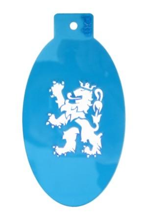 PXP schminksjabloon  Limburgse leeuw