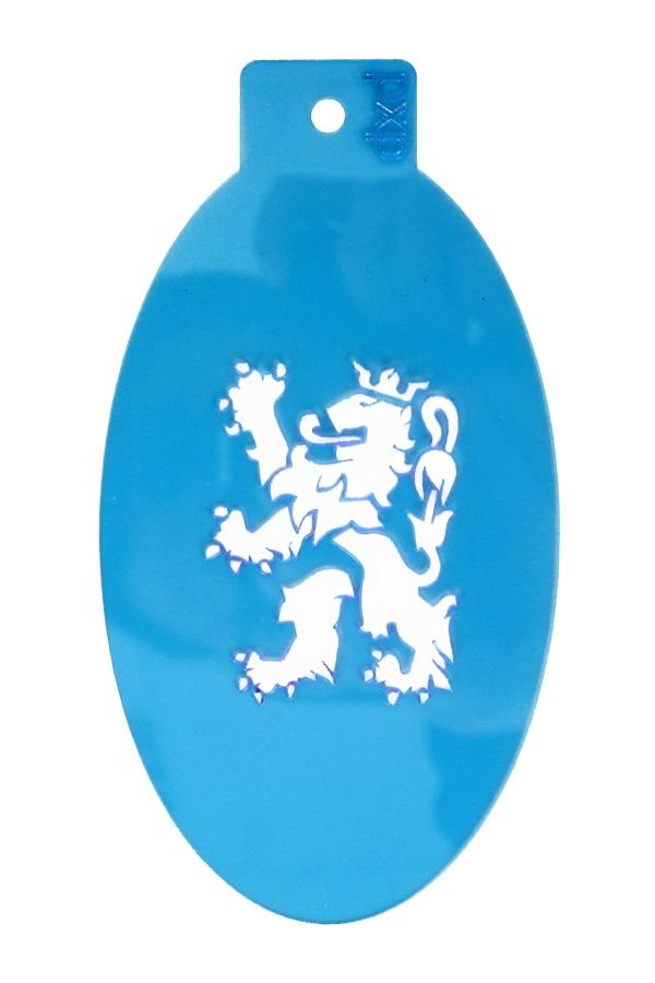 PXP schminksjabloon  Limburgse leeuw 1