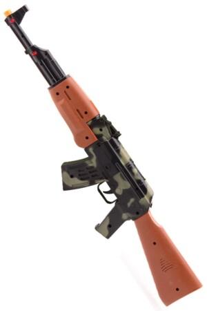 Machine geweer ak 47 met geluid