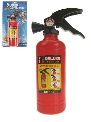 Brandblusser die echt water spuit 1
