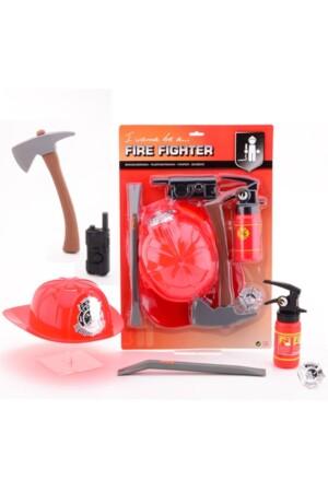 Brandweer speelset 6-delig