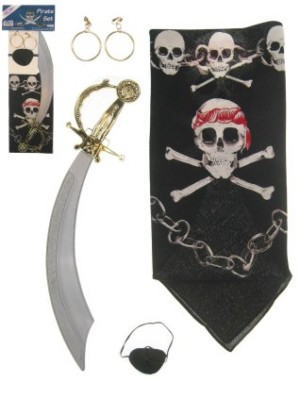 Piratenset 4-delig