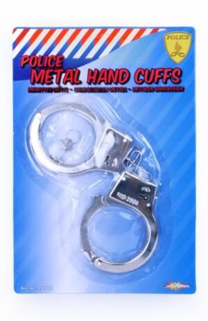 Metalen handboeien