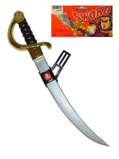 Piraten zwaard met doodshoofd 1