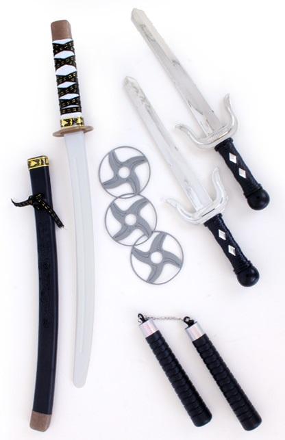 Ninja set 4-delig