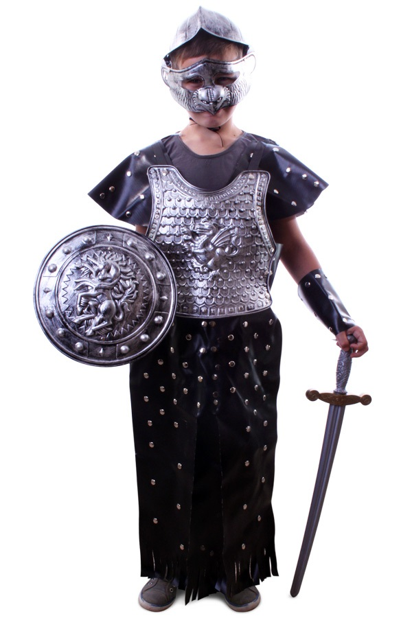 Gladiator set jongens one size 1