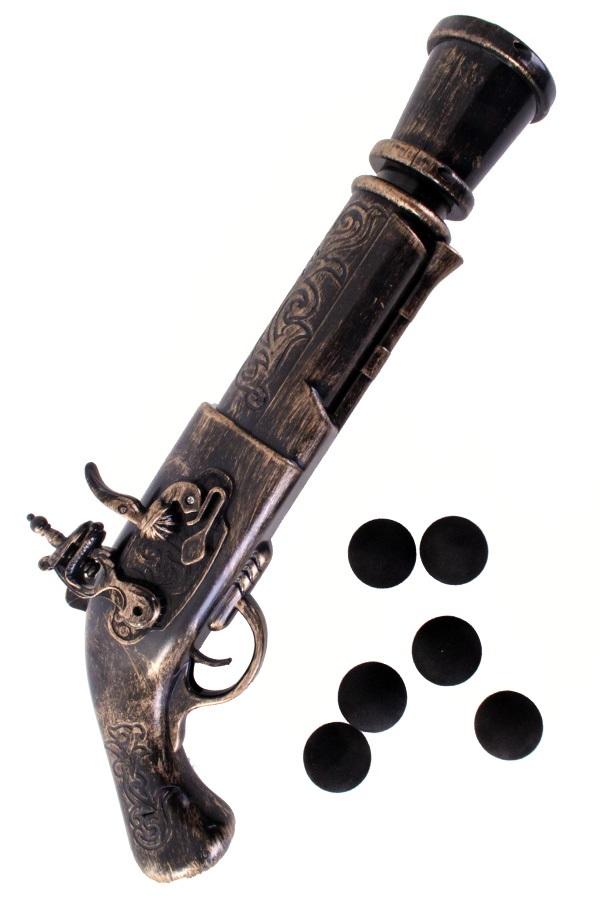 Piraten pistool groot incl