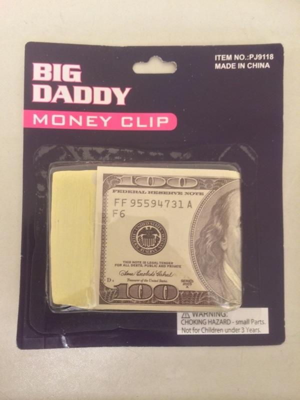 Moneyclip dollarbiljet 1