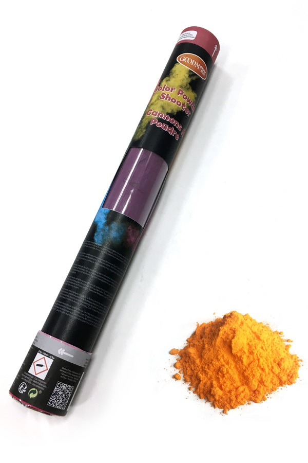 Color Powder Shooter 40 cm Orange 350 gramOUTDOORNIET ONTVLAMBAAR 1