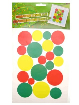 Adhesive confetti snippers 35x50cm